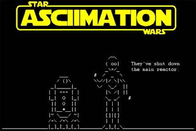 starwars, asciimation