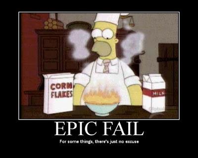 cartel, desmotivador, epic fail, fallo epico