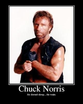chuck norris, desmotivador