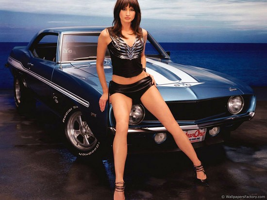 Girls and Cars Wallpapers