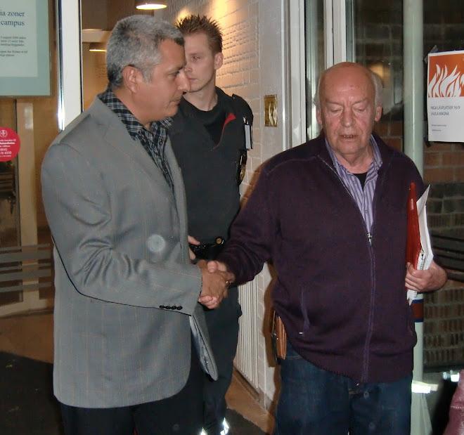 Eduardo Galeano, en Estocolmo-Suecia