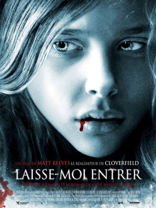 laisse moi entrer dans films d horreurs et fantastiques Let+Me+In+French+Poster