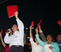 Felipe Calderón, como aspirante a la presidencia