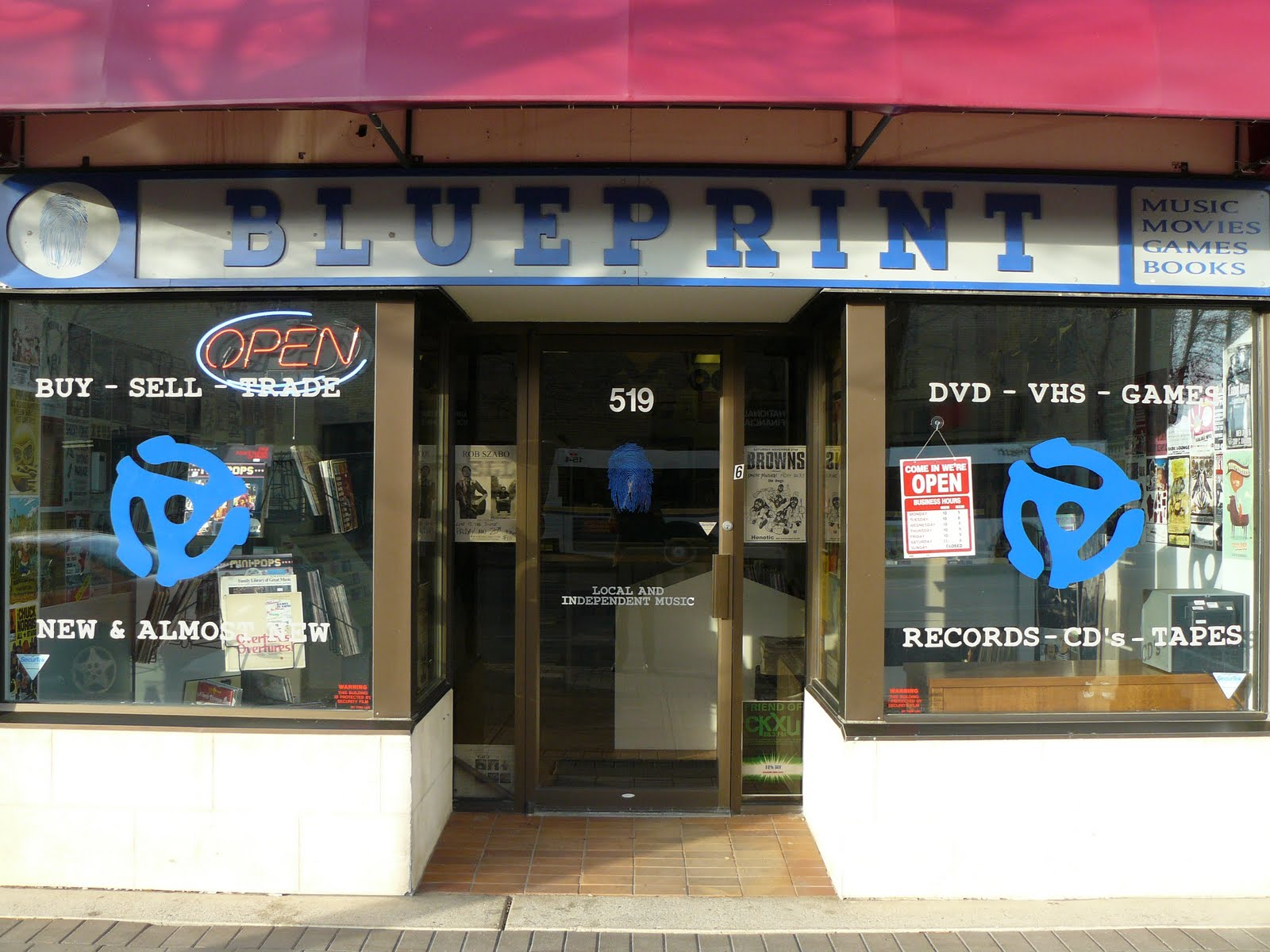 Our downtown blueprint entertainment downtown lethbridges our downtown blueprint entertainment downtown lethbridges independent record store malvernweather Choice Image