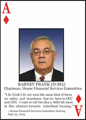 OK, so here you go, our attempt to flatter Barney Frank because he's gay.