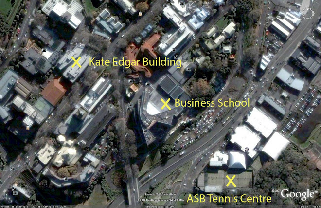 Location Of ASB Tennis Centre