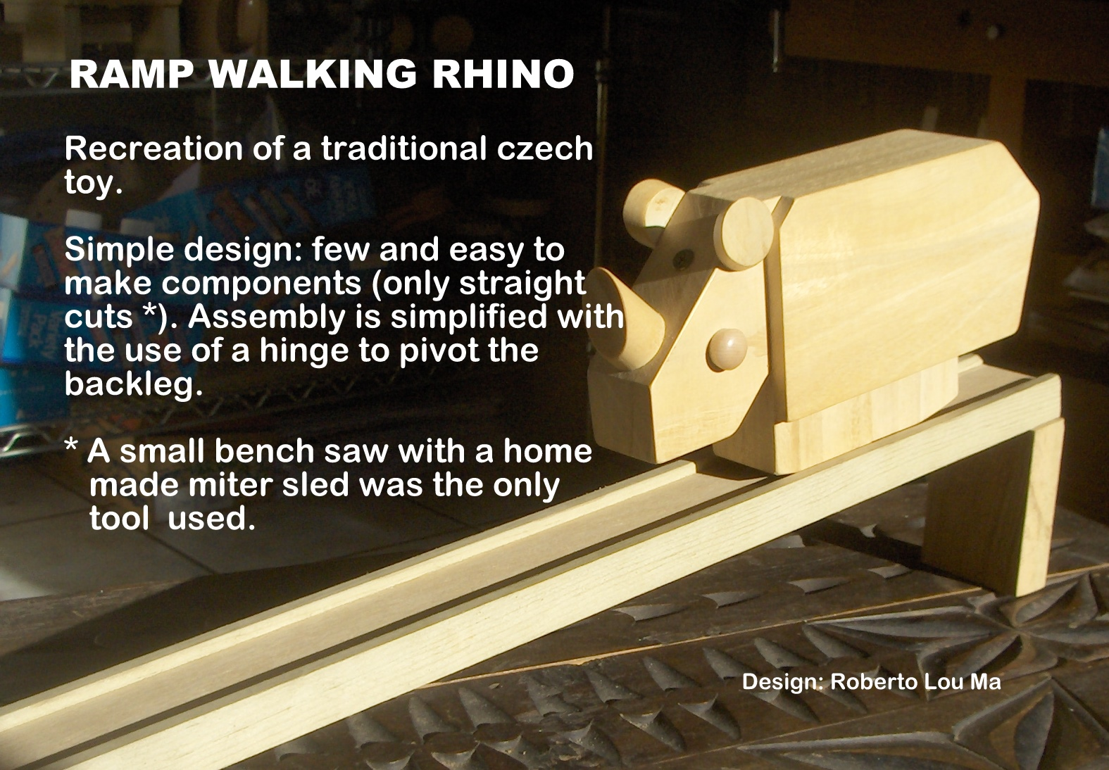 The Automata Blog: Free plans for a ramp-walking wooden ...