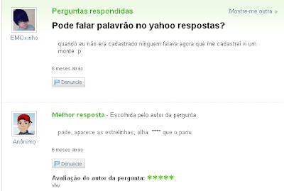 yahoo respostas leet