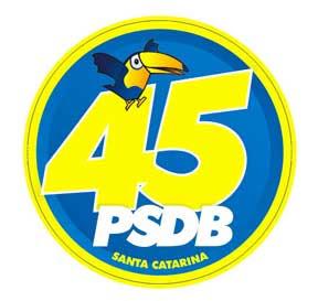 Adesivo PSDB