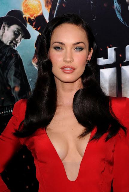 megan fox transformers 2 premiere red dress. 2010 Megan Fox on Transformers