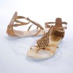 sandálias estilo romano