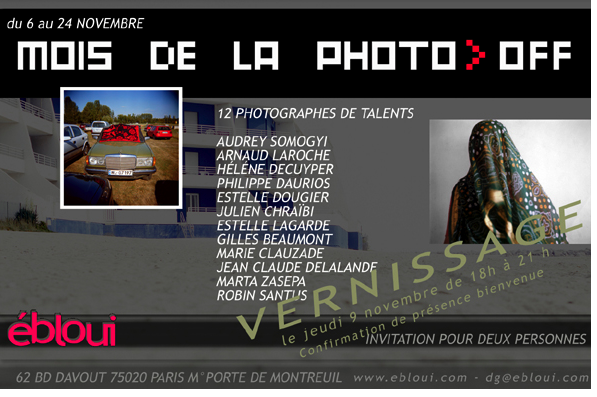 Miesiac Fotografii w Paryzu, zaproszenie na wernisaz