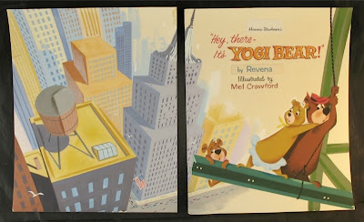 Golden book adaptations of this yogi bear animated feature film