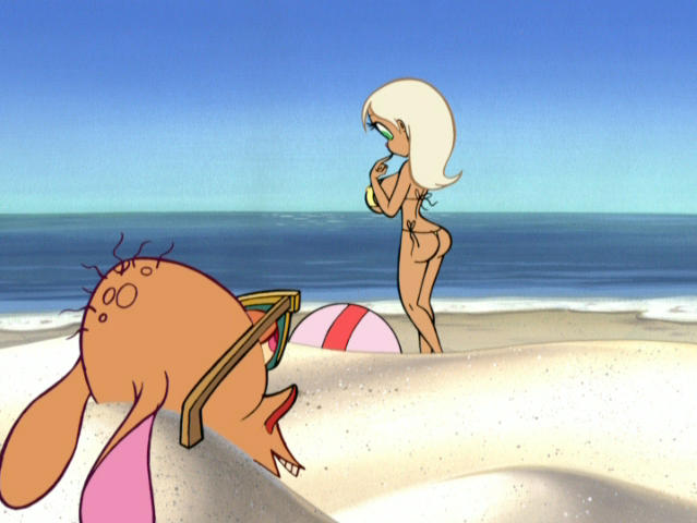 Ren and stimpy nude beach