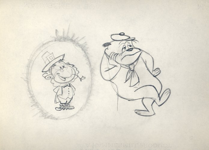 Line Quality In Art : John k stuff: nice pencil work from assorted animation studios