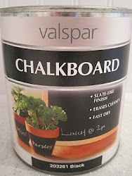 We Love Chalkboard Paint!