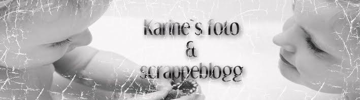 Karine`s foto og scrappeblogg