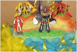 Torta Infantil Transformers