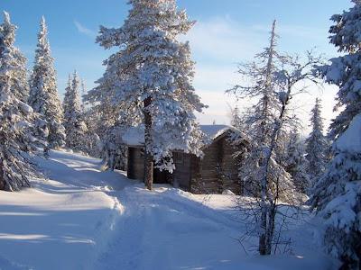 Fotos de paisajes nevados un paisaje de cuento de navidad - Paisaje nevado navidad ...