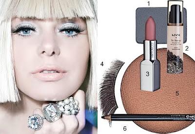 Lady Gaga: Dica de Maquiagem do clipe Poker Face