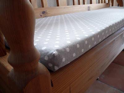 katrins landleben bankauflage. Black Bedroom Furniture Sets. Home Design Ideas