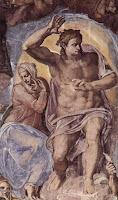 Michelangelo : Le jugement dernier de la Chapelle Sixtine