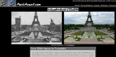 Photos de Paris Avant et Maintenant