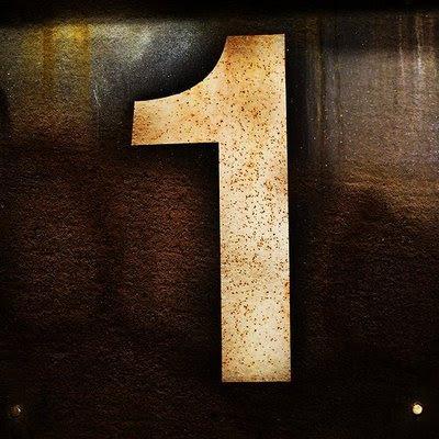Imagem mostrando o número 1