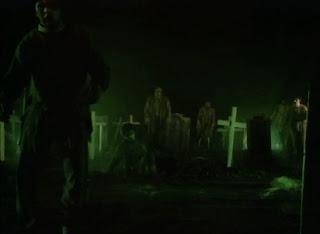 zombie graveyard in deathstalker 2 1987