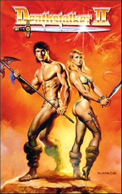 Deathstalker II 1987 poster cover
