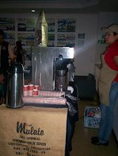 CAFÉ MULATO nos regaló un delicioso café en la inauguración de la exposición