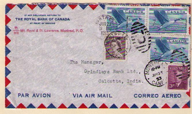 25 cents one quarter ounce air mail letter rate