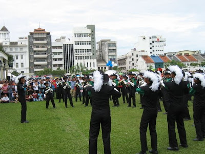 Michaelian Military Band performing in Ipoh Field