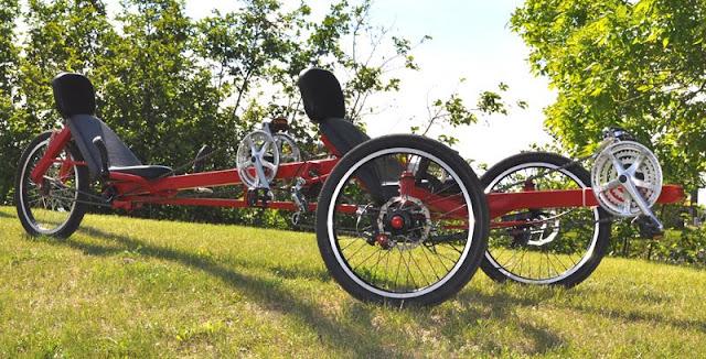 Как сделать четырёхместный велосипед