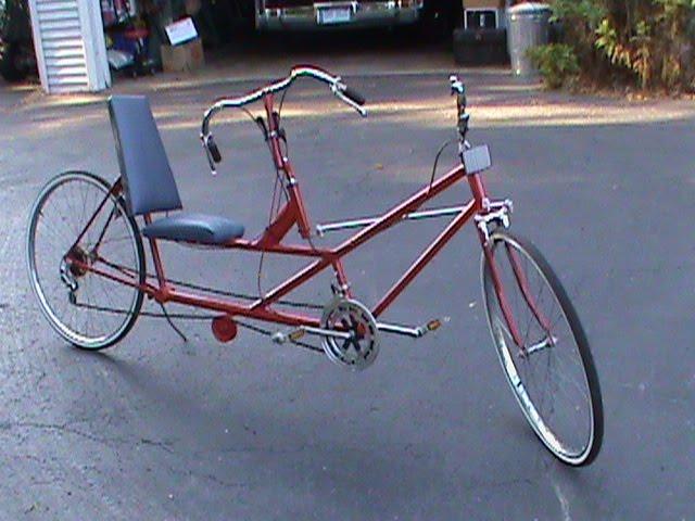 Recumbent Bike Plans Recumbent Trike Bike