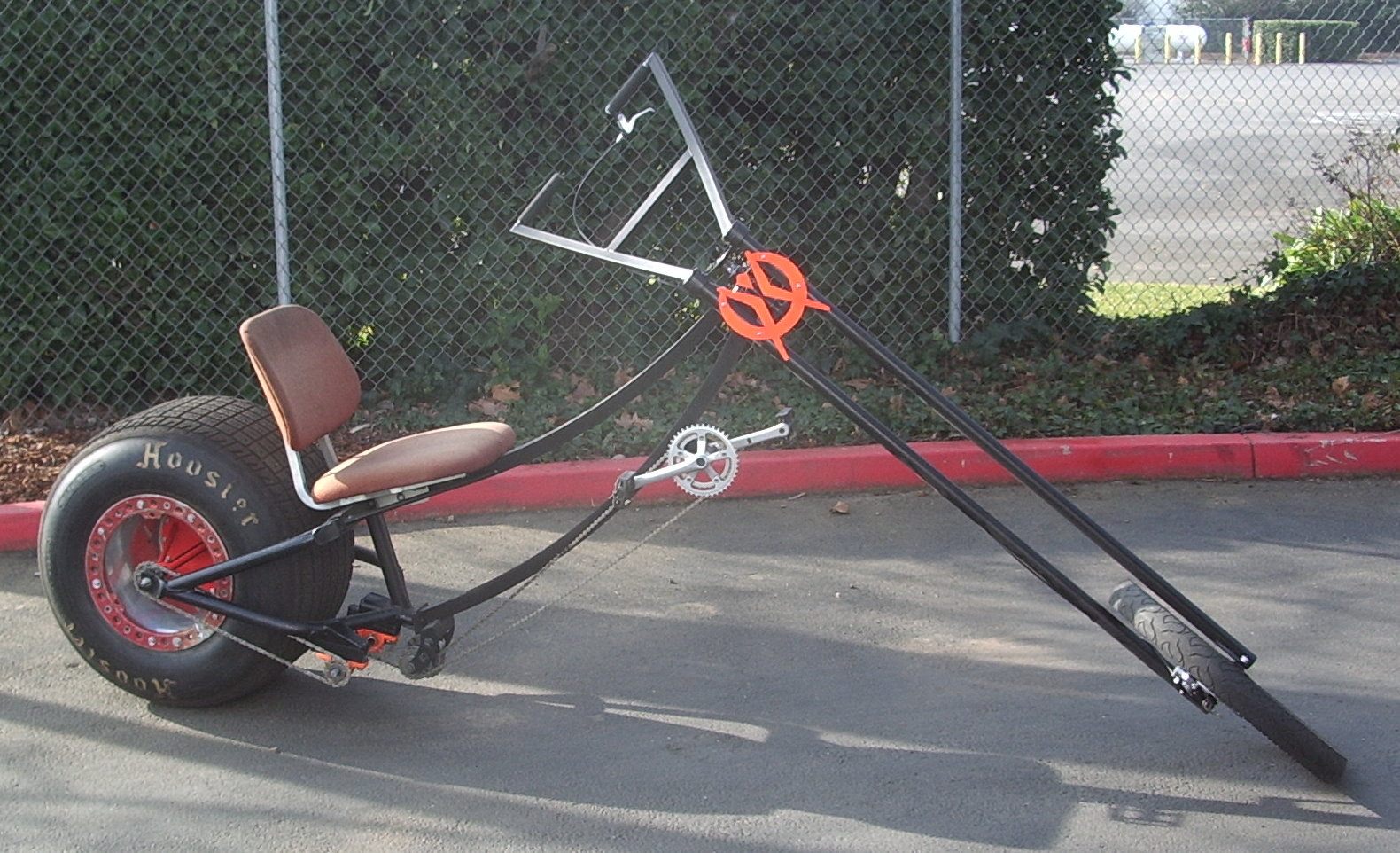 how to make a drift trike out of a bike