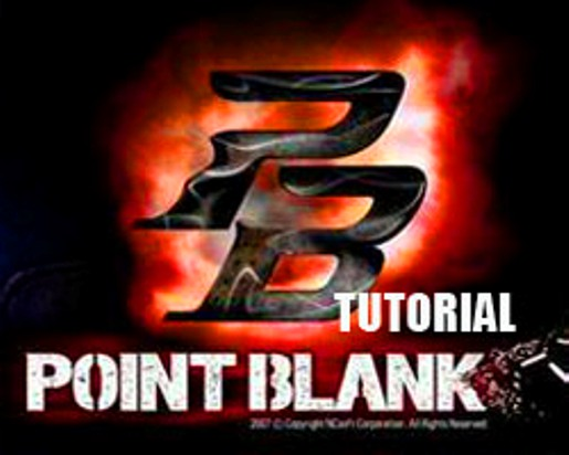 logo point blank indonesia. logo point blank