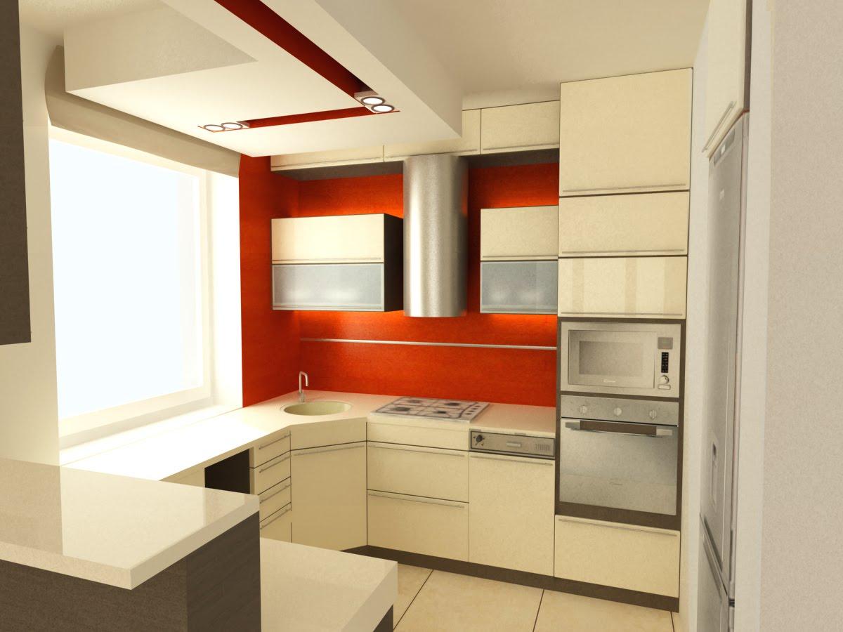 Architektura, wnętrza, wizualizacje 3D Mała Kuchnia -> Kuchnia Polowa Wymogi Sanepidu