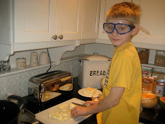 Onions + Goggles = No Crying