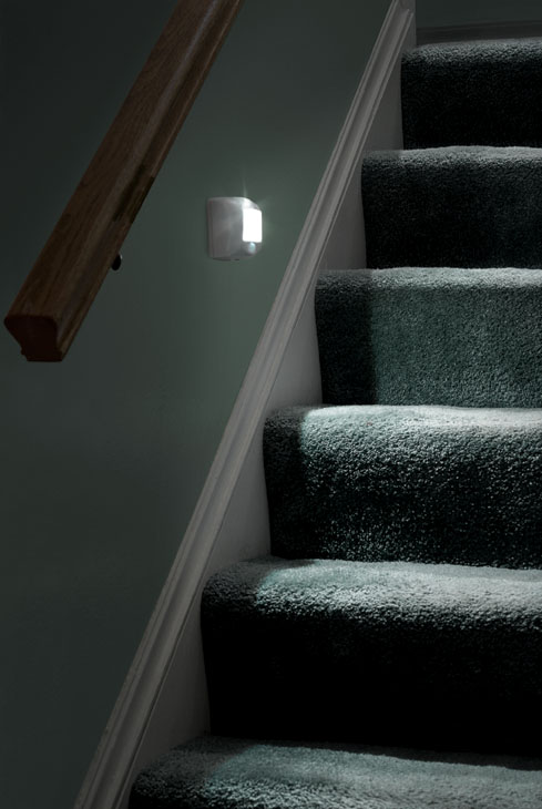 One Of The Main Reasons We Started The Mr. Beams LED Lighting Company In  The First Place Was To Light Dark Stairs. Stairs Are Notoriously Dark.