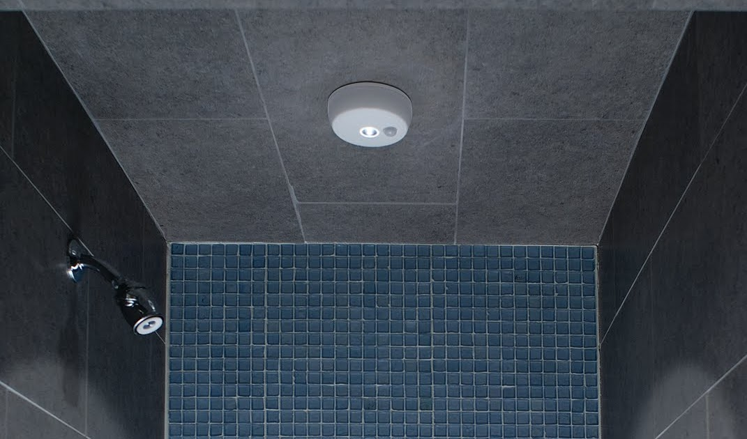 Mr Beams Battery Powered LED Lighting Solutions Bright Wireless Shower Lights The Best Way To