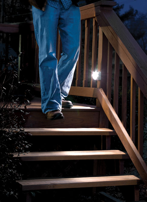 led lighting solutions reduce winter falls on ice steps and stairs