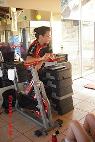 Encontro técnico ciclismo em academia