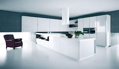 Casas minimalistas y modernas cocinas con grandes islas for Tecnicas modernas de cocina