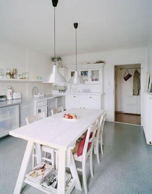 Estilo rustico cocinas blancas for Cocinas rusticas blancas