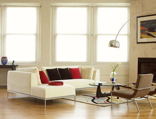 Casas minimalistas y modernas lamparas miro para livings - Decoracion moderna minimalista ...