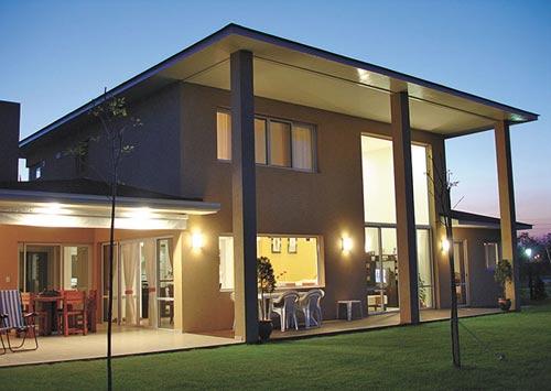 Casas minimalistas y modernas galerias muy modernas for Casa minimalista con quincho