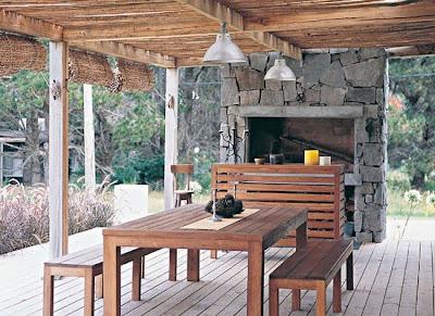 Estilo rustico galerias rustic style porches - Porches rusticos ...