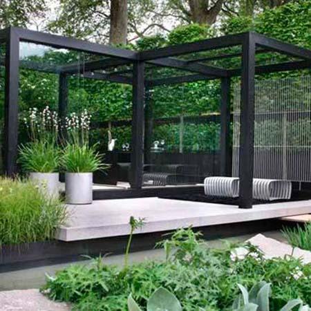 Casas minimalistas y modernas jardines rigidos - Jardines modernos minimalistas ...