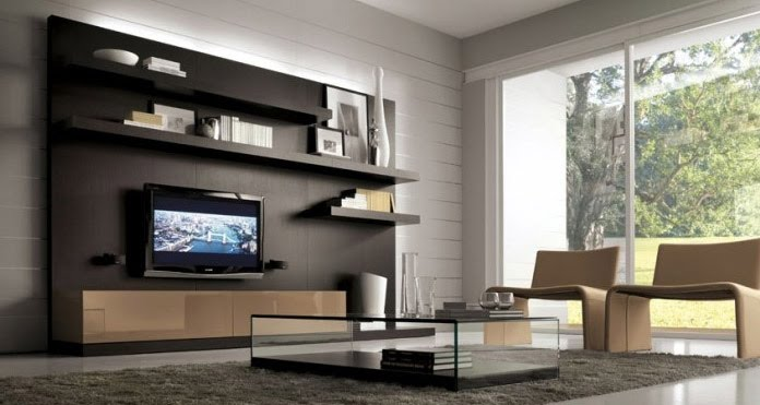 Deco today muebles para livings modernos for Muebles para living